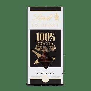 Lindt EXCELLENCE Extra hořká čokoláda 100% kakaa, 50g