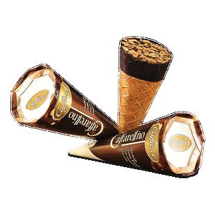 Kornoutek s hořkou čokoládou Caffarel Caffarelino 25g