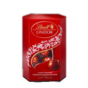 LINDOR pralinky Mléčná čokoláda 50g