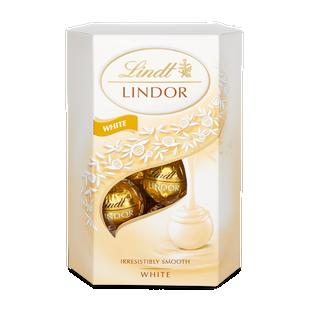 LINDOR pralinky Bílá čokoláda 200g