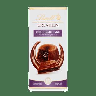 Lindt Creation Mléčná čokoláda s náplní z čokoládového dortu 150g