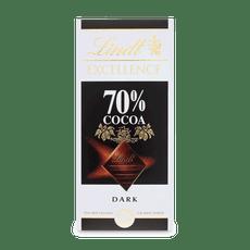 Lindt EXCELLENCE hořká čokoláda 70% kakaa 100g