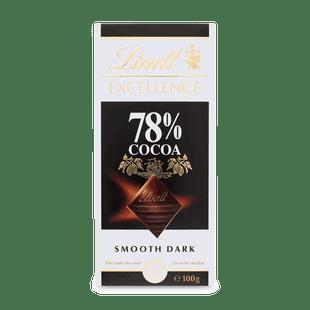 Lindt EXCELLENCE Extra hořká čokoláda 78% 100g