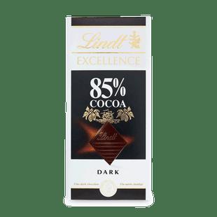 Lindt EXCELLENCE hořká čokoláda 85% kakaa 100g
