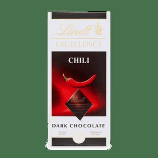 Lindt EXCELLENCE Hořká čokoláda s chilli extraktem 100g