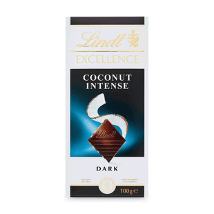 Lindt EXCELLENCE Hořká čokoláda s kousky kokosu 100g