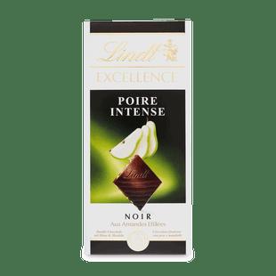 Lindt EXCELLENCE Hořká čokoláda s hruškovou náplní a kousky mandlí 100g