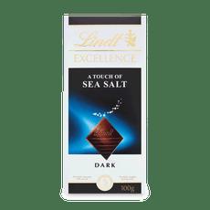 Lindt EXCELLENCE Hořká čokoláda s mořskou solí 100g