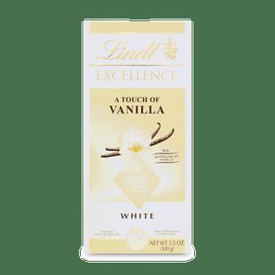 Lindt Excellence Extra bílá čokoláda s vanilkovou příchutí 100g