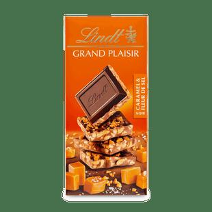 Hořká čokoláda Grand Plaisir s karamelem 150g