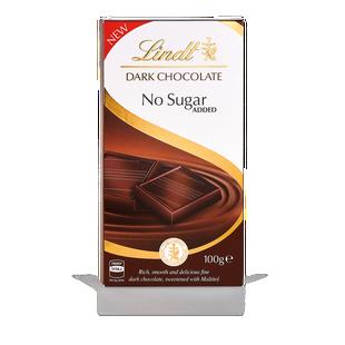 Lindt Hořká čokoláda bez přidaného cukru 100g